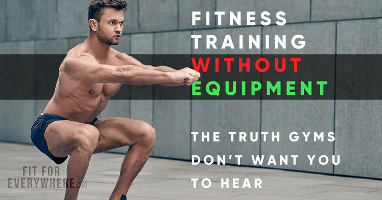 without equipment fitness workout training no