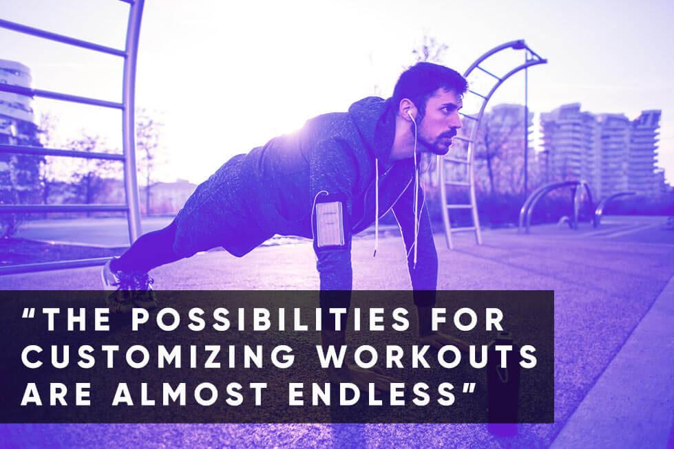 Bodyweight Workout Split Routine QuoteS